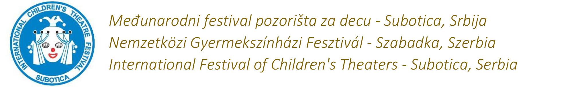 27. Međunarodni festival pozorišta za decu -selekcija logo